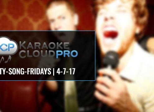 50 new karaoke hits to download 4-7-17