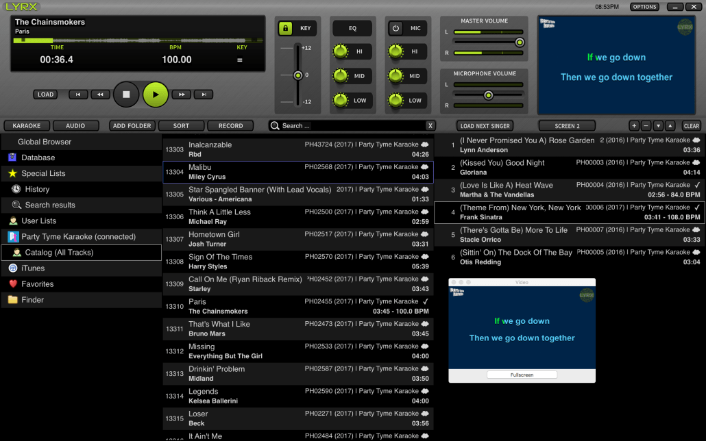 LYRX Karaoke Software For MAC | Download Version 1 1 Now