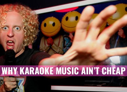 Why karaoke subscriptions cost so much