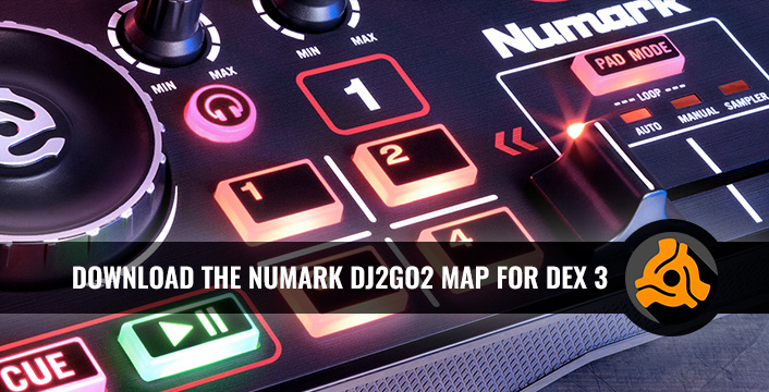 DJ Controllers | Numark DJ2GO2 Now DEX 3 And DEX 3 RE Supported