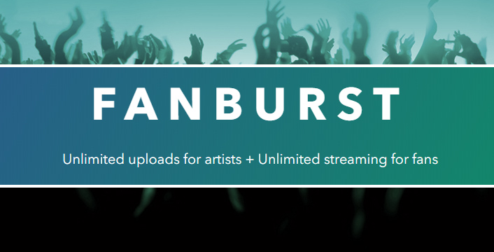 Fanburst | A New Website To Upload Your DJ Mixes To | PCDJ