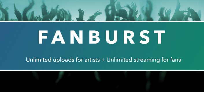 Upload DJ mixes to Fanburst