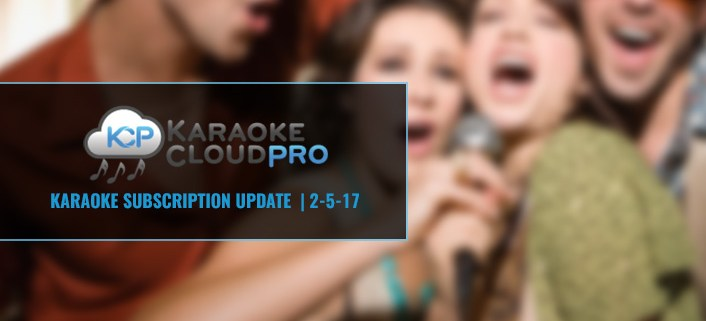 Karaoke Cloud Pro subscription update 2-5-18