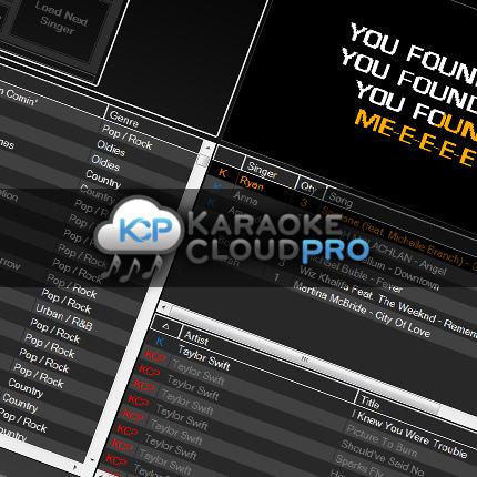 Karaoke Cloud Pro for use with Karaoki