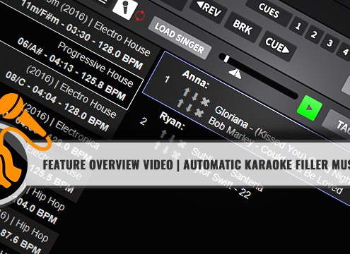 DEX 3 filler music player for karaoke
