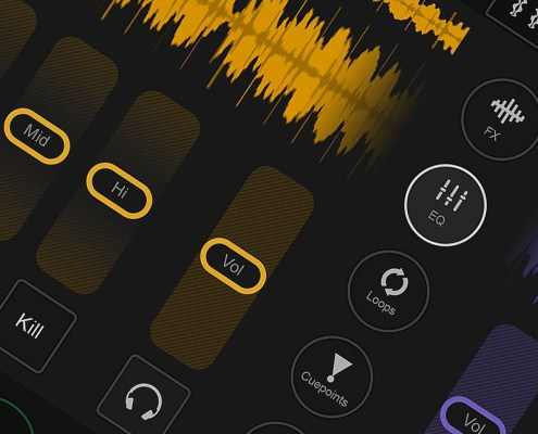 DJ App EQ