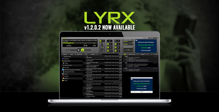 Karaoke Software for MAC   LYRX v1 2 0 2 is Ready for Download!   PCDJ