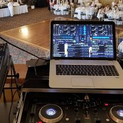 DJing with DEX 3 at a Wedding