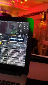 mixing with DEX 3 at new years party