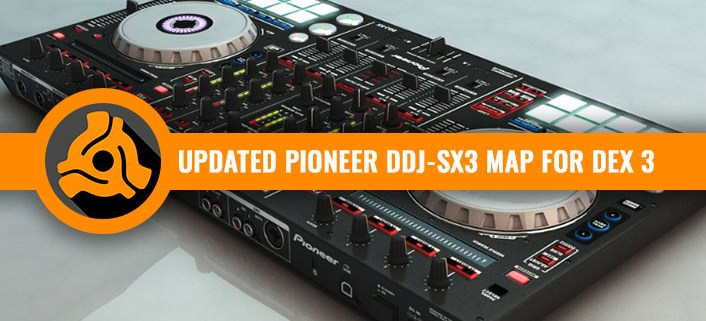 Pioneer DDJ-SX3 map for DEX 3 DJ Software