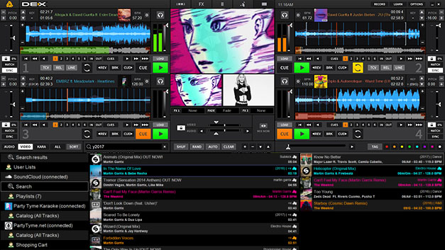 DEX 3 DJ Mixing Software