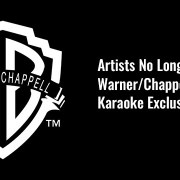 Warner Chappel Karaoke Exclusion List Update