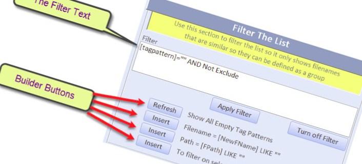 karaoke file name fixer filtering