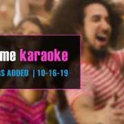 Best karaoke subscription update 10-16-19