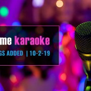 New karaoke Songs from Party Tyme