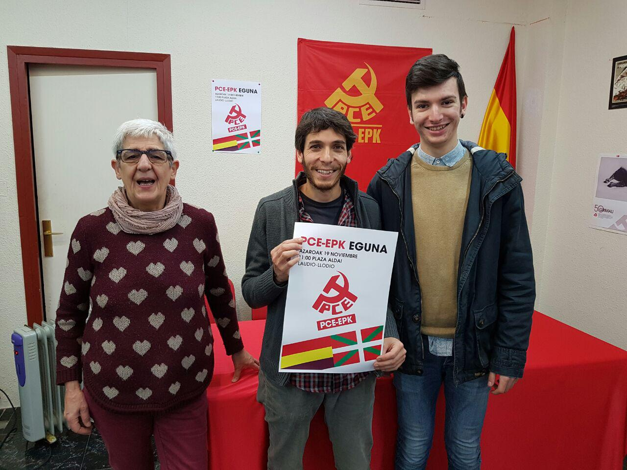 El Partido Comunista de Euskadi-EPK celebra este fin de semana en la localidad alavesa de Laudio-Llodio su fiesta anual rebautizada como EPK Eguna
