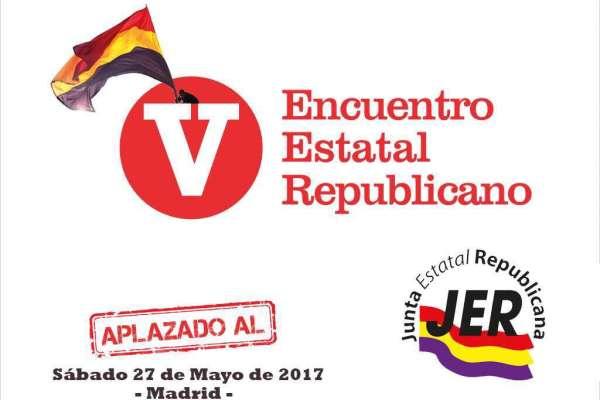 El EPK y GK acuden al 5º Encuentro Estatal Republicano de la JER el 27 de mayo en Madrid (Actualización)