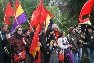 El PCE-EPK emplaza a la Diputación Foral de Gipuzkoa a realizar un homenaje colectivo a los milicianos y gudaris que perdieron su vida en Areces (Asturias)