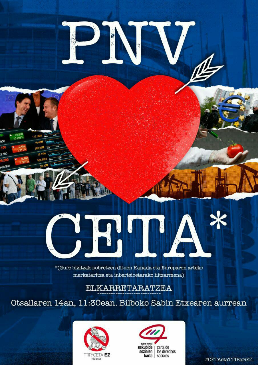 Movilizaciones contra el tratado CETA