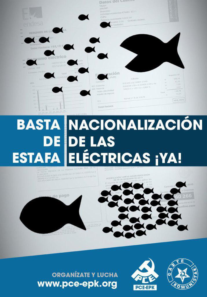 Campaña por la Nacionalización de las eléctricas