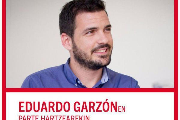 Eduardo Garzón en Euskadi. Frente al paro, empleo garantizado.