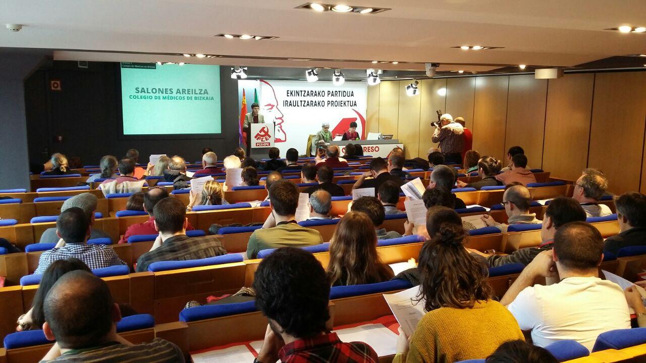 El Partido Comunista de Euskadi-EPK reelige como Secretario General a Jon Hernández, parlamentario de Ezker Anitza-IU en el Parlamento Vasco.