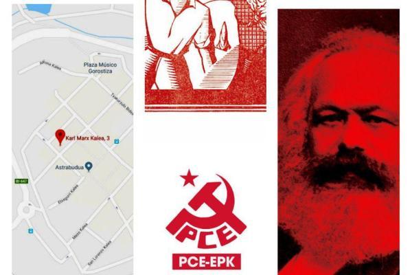 Acto 200 aniversario del nacimiento de Karl Marx