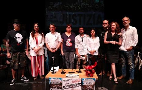 Una manifestación denunciará el sábado en Madrid el caso de los jóvenes de Altsasua