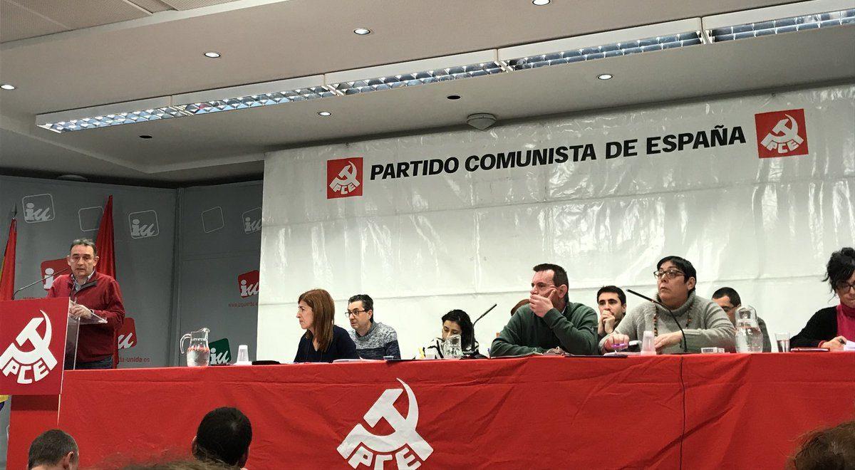 El Comité Central del PCE se reunirá este fin de semana.