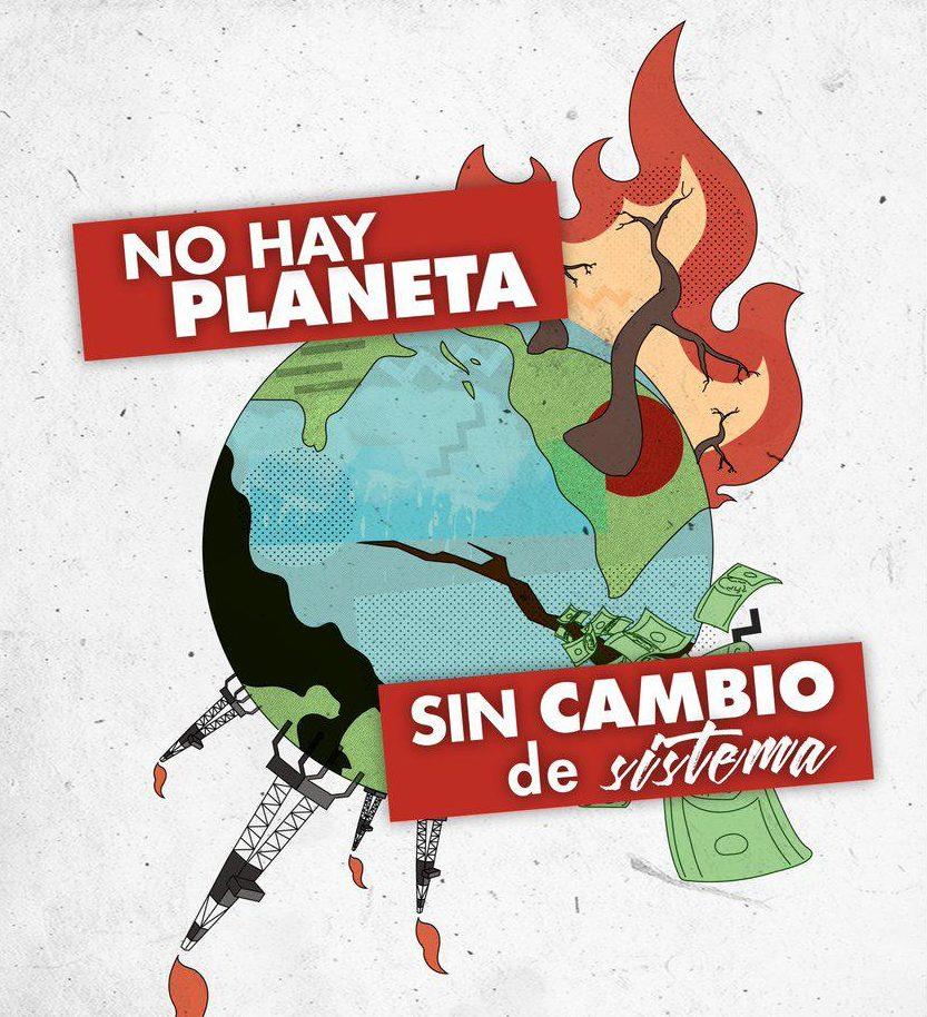 El Partido Comunista apoya y convoca a la Huelga Mundial por el Clima de 27 de septiembre