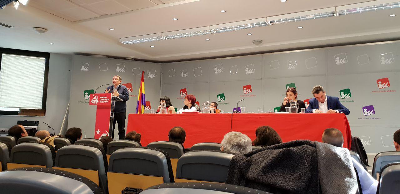 Acuerdos del Comité Central sobre la negociación entre Unidas Podemos y el PSOE para formar gobierno.