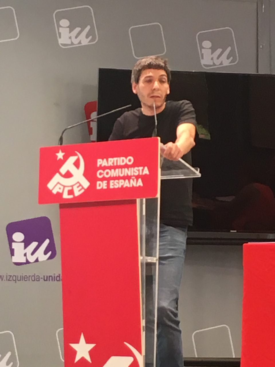 El SG del PCE-EPK, Jon Hernández califica de inaceptables las cifras de muertes laborales con las que ha arrancado el 2020.