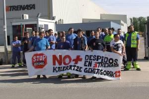 El PCE-EPK Navarra muestra su apoyo a la plantilla de la planta de TRENASA de Castejón y exige un Plan de Industrialización que combata las deslocalizaciones industriales y cree empleo de calidad.