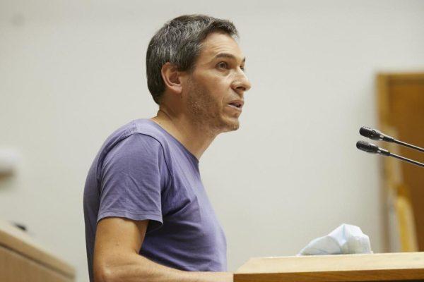 Parlamento Vasco: El SG del PCE-EPK rechaza las políticas del PNV y defiende la construcción de una alternativa de izquierdas
