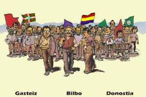 Abenduaren 6an, Konstituzio Errepublikano baten alde. Kontzentrazioak Euskadin.