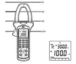 Medidor de potencia PCE-UT232