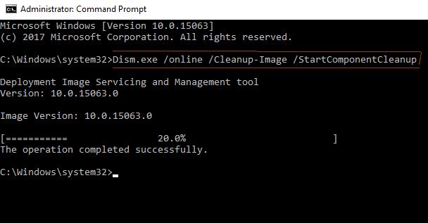 fix Anniversary Update error 0x80080008