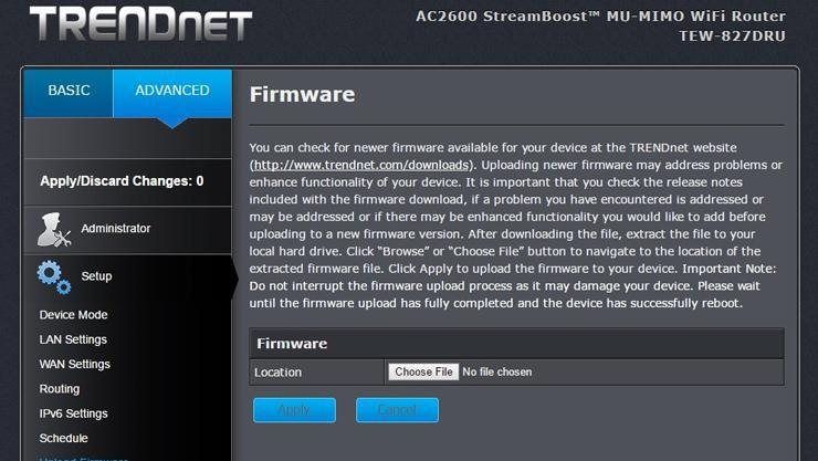 Update Your Router Firmware