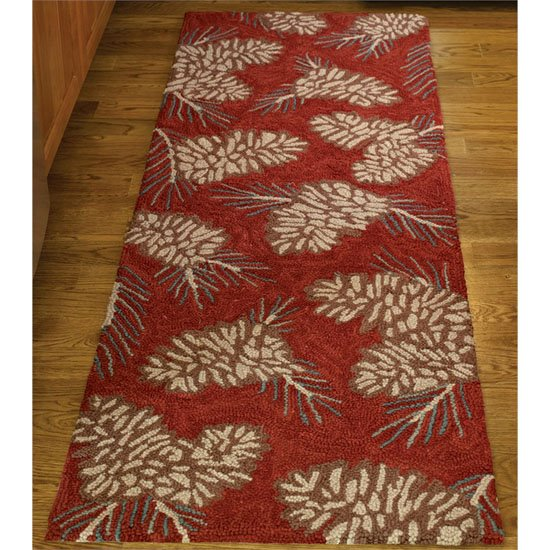 Pinecone Hook Rug Runner 24X72 By Park Designs PC