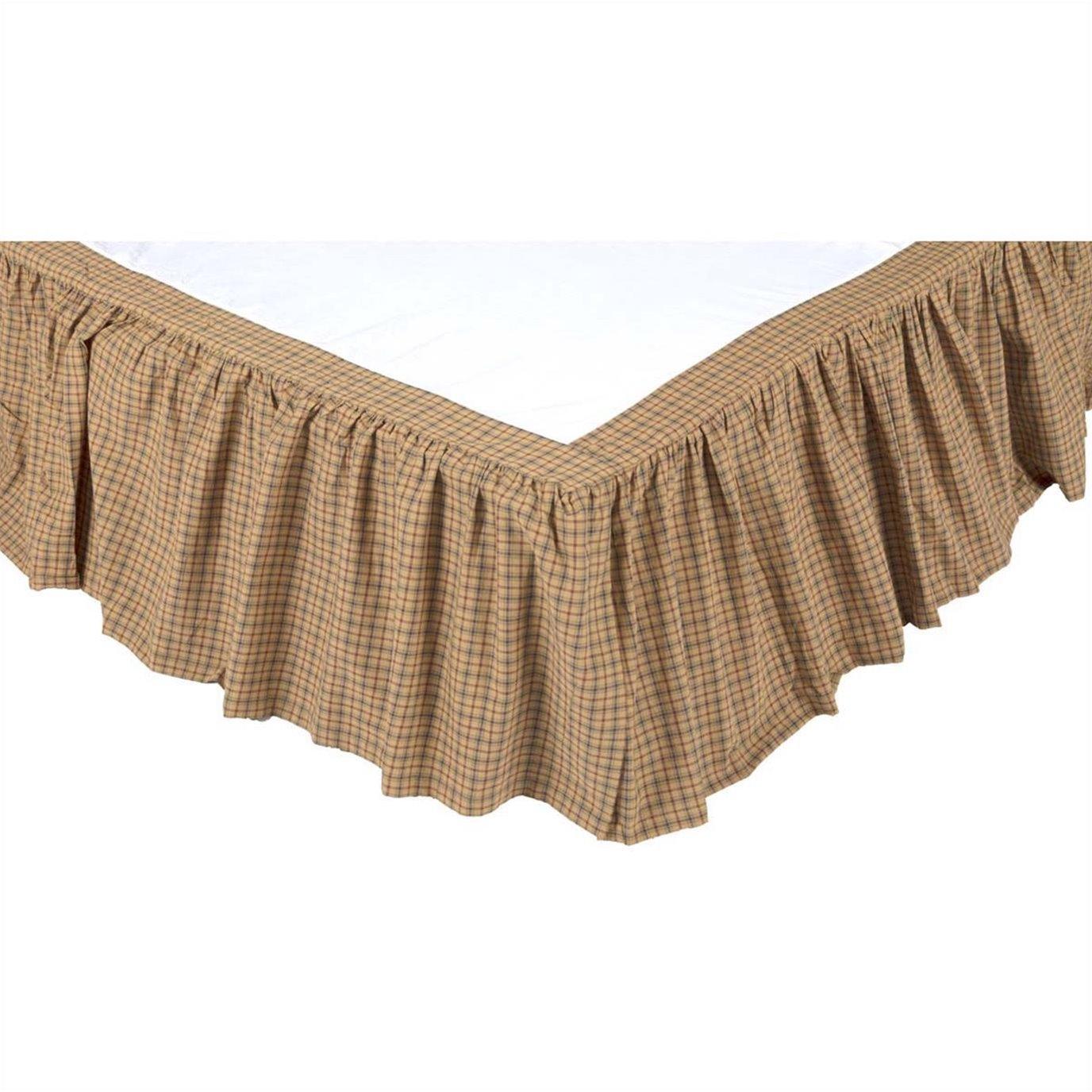 Millsboro King Bed Skirt 78x80x16 By Oak Amp Asher