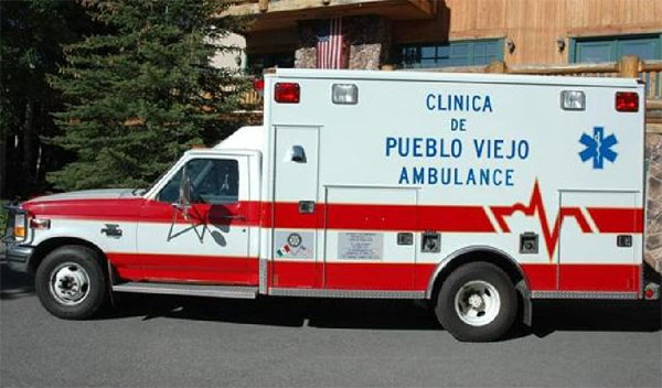 Pcfd Ambulance Finds New Home In Mexico