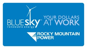 Rocky Mountain Power Blue Sky Dollars At Work