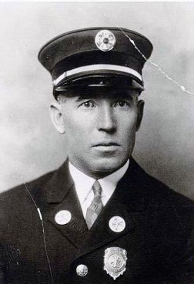 ca.1926, William J. Berry fire chief from 1921-1948, 1958-1960.