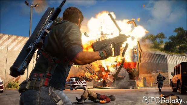 Just Cause 3 Explosions