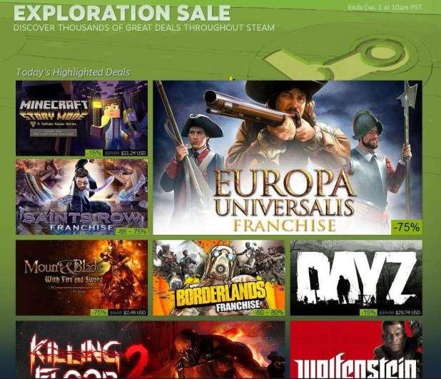 Steam Fall Sale 2015