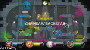 Chainsaw Backstab