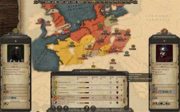 Total War Attila- דיפלומטיה