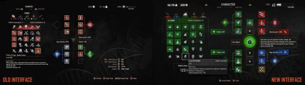 The Witcher 3 UI Old vs NEW (1)