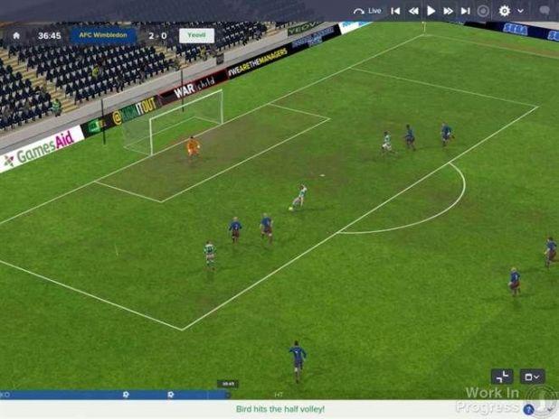 מנוע המשחק Football Manager 2017 שודרג