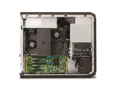 HP Z4 Workstation inside cover off with memory cooler_FFCG_SATA Removal_C
